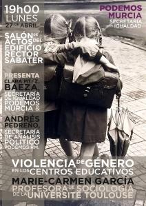 Podemos-Murcia Secretariada de igualdad